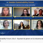 Empresas suecas comparten su visión y mejores prácticas sobre sustentabilidad en el Sweden Sustainability Forum